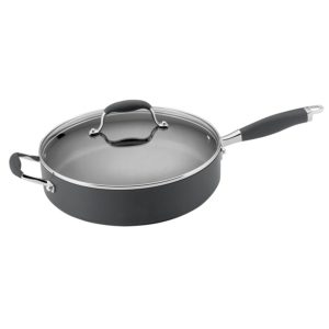 Anolon Anodized 5 Quart Covered Saute