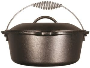 Lodge L8DO3 Cast Iron Dutch Oven
