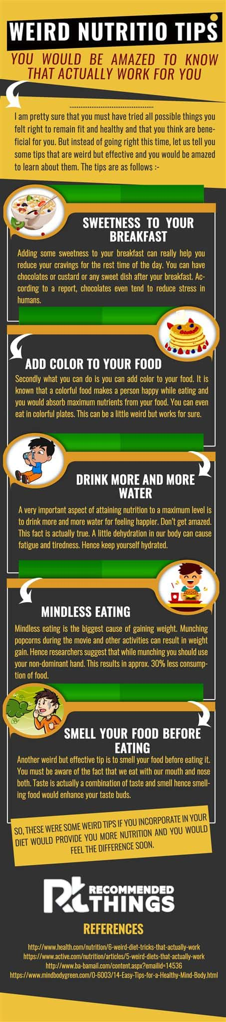 Weird Nutrition Tips You Would Be Amazed To Know