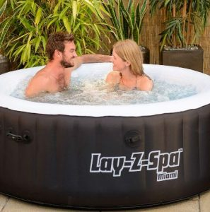 inflatable hot tube