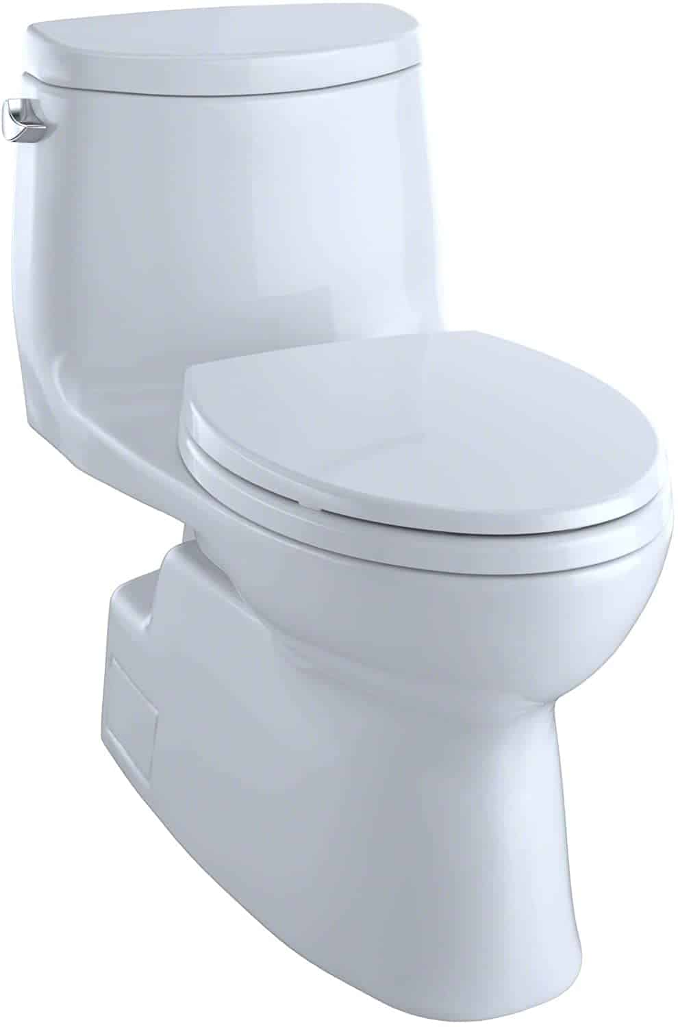 TOTO Carlyle II One-Piece Elongated 1.28 GPF Universal Height Skirted Toilet