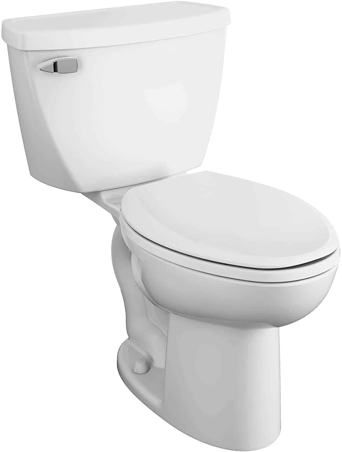 American Standard 2467016.020 Cadet Right Height Elongated Pressure-Assisted Toilet,